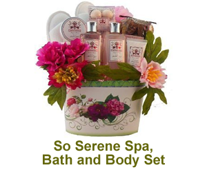 So Serene Spa, Bath and Body Set