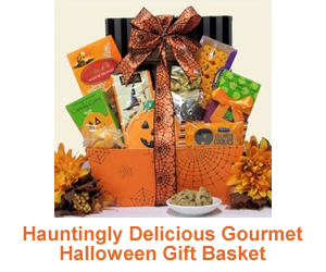 Hauntingly Delicious Halloween Basket