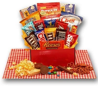 All American Favorite Snacks Sweepstakes Kudosz Gift Baskets