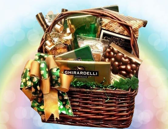 Ghirardelli Irish Wish St. Patrick's Day Gift Basket