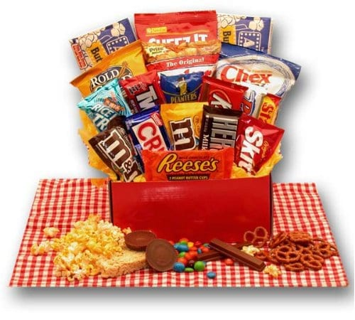 All-American Picnic Favorite Snacks Gift Basket