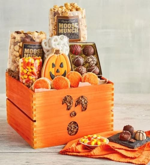 Halloween Harry & David Classic Gift Crate