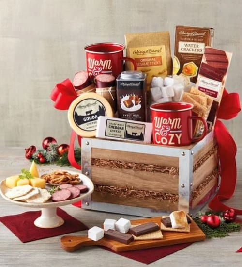 Harry & David Fireplace S'mores Gift Basket