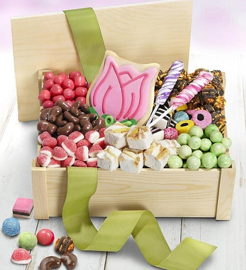 Dark Chocolate Spring Sweet Surprises Gift Basket