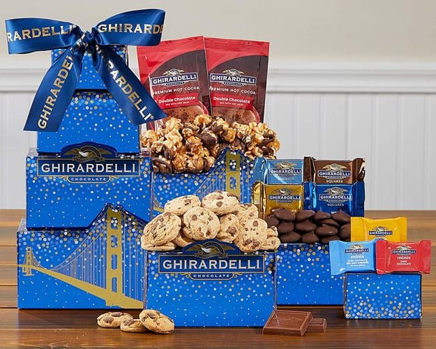Ghirardelli Happy Spring Chocolate Gift Tower