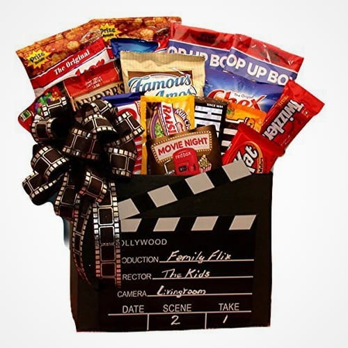 Hershey's Movie Time Snack Gift Basket