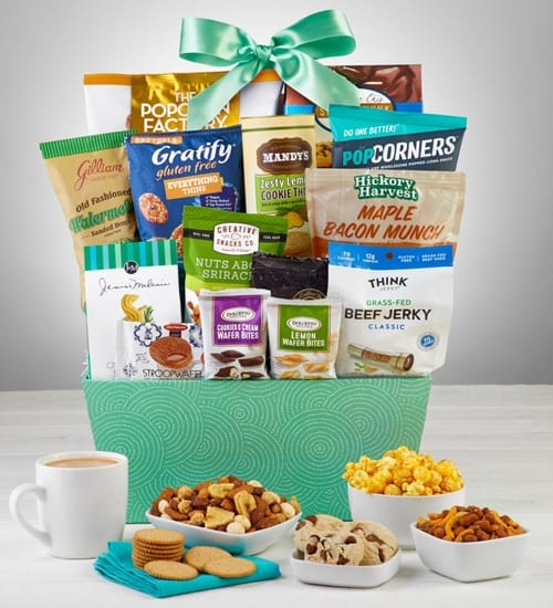 Sweet & Salty Snacks and Sweets Gift Basket