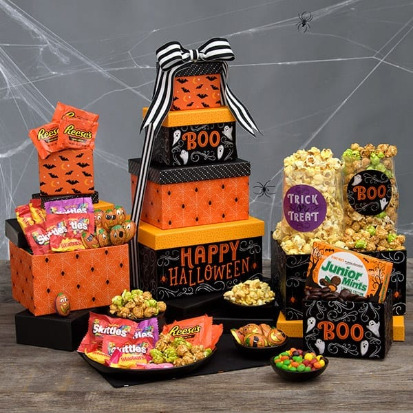 Halloween-Haunted-House-Gift-Tower