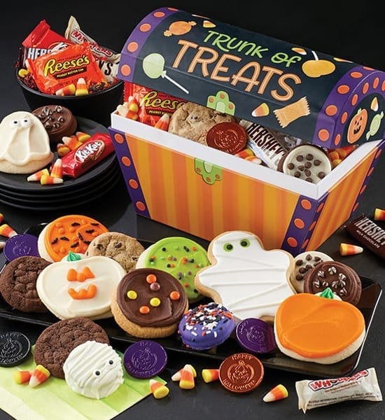 Hershey's Halloween Trunk of Treats and Cookies