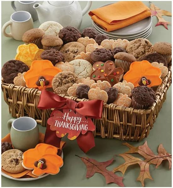 Buttercream Frosted Thanksgiving Gift Basket