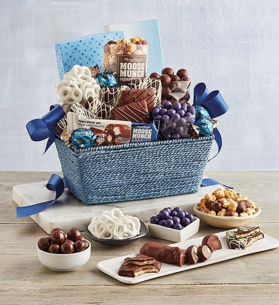 Harry & David Milk Chocolate Festive Gift Basket