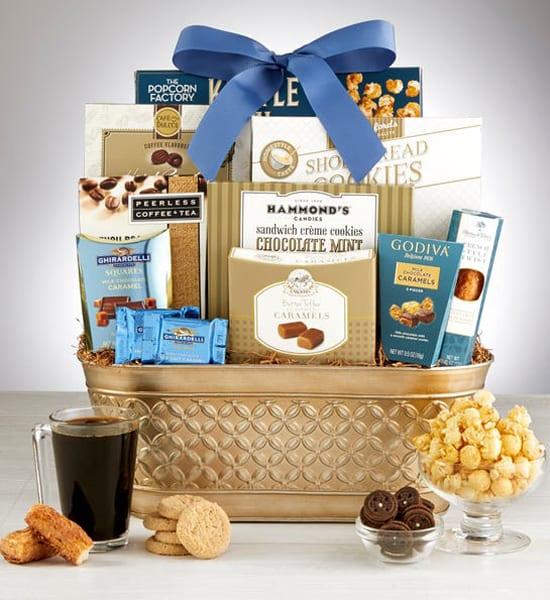 Godiva Majestic Grandeur Gourmet Gift Basket