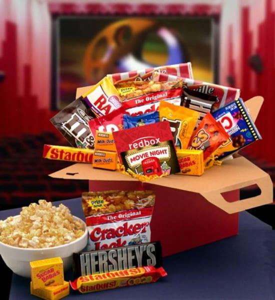 Hershey's Blockbuster Movie Night Gift Basket