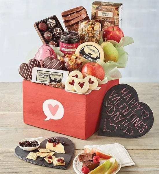 Harry & David Valentine's Day Supreme Gift Basket