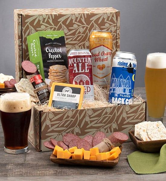St. Patrick's Beer Expert Trio Gift Basket