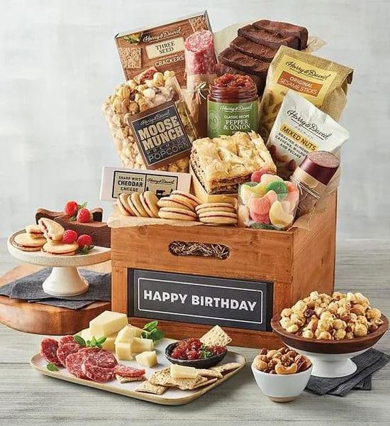 Harry & David Happy Birthday Deluxe Gift Basket