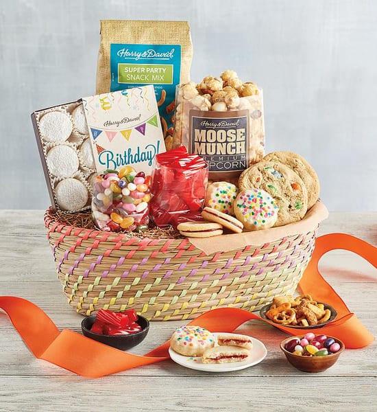 Harry & David Classic Birthday Gift Basket