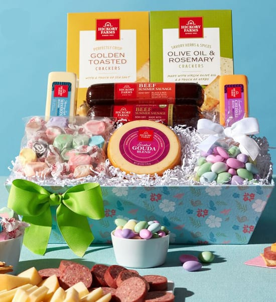 Hickory Farms Premium Spring Snack Gift Basket