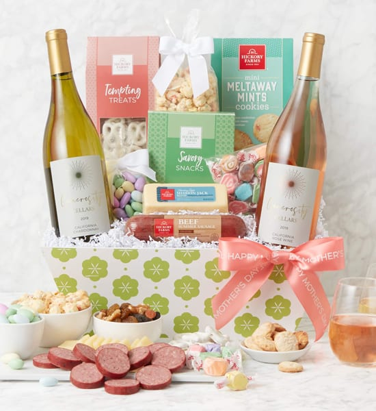 Mother's Day Premium Treats & Wine Gift Basket Giveaway