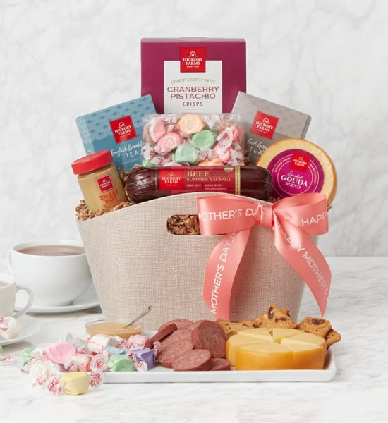 Hickory Farms Mother's Day Tea Party Gift Basket