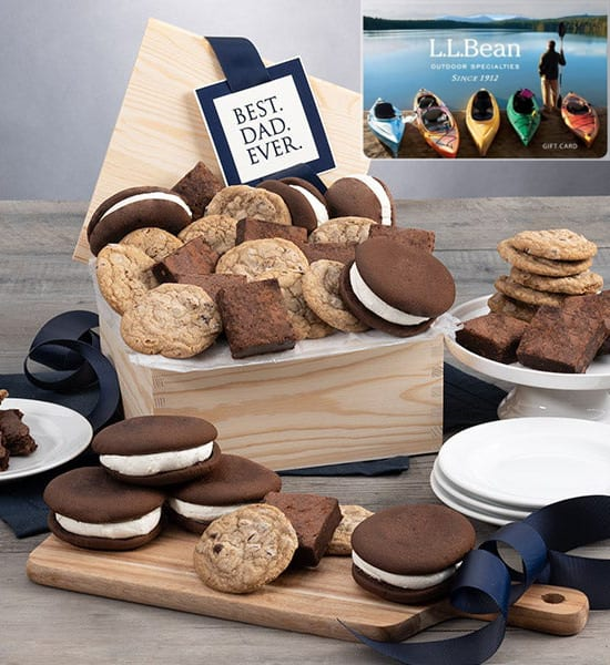 Father's Day Chocolate Chip Cookies Gift Basket