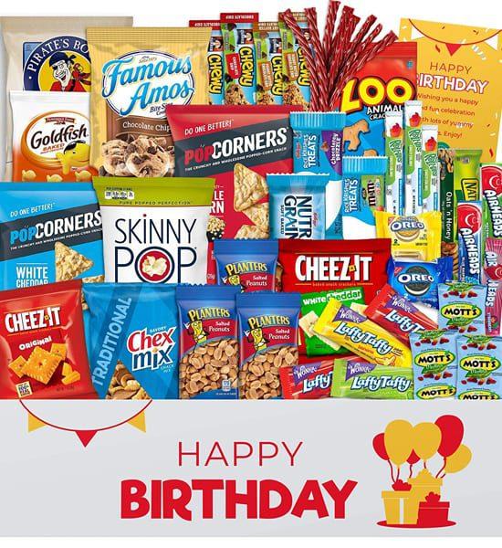 Oreo Birthday Snack Pack Gift Basket