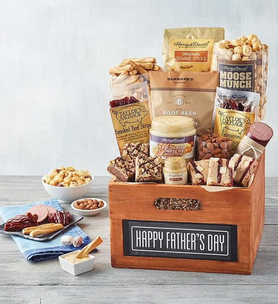 Harry & David Father's Day Summer Sausage Gift Basket