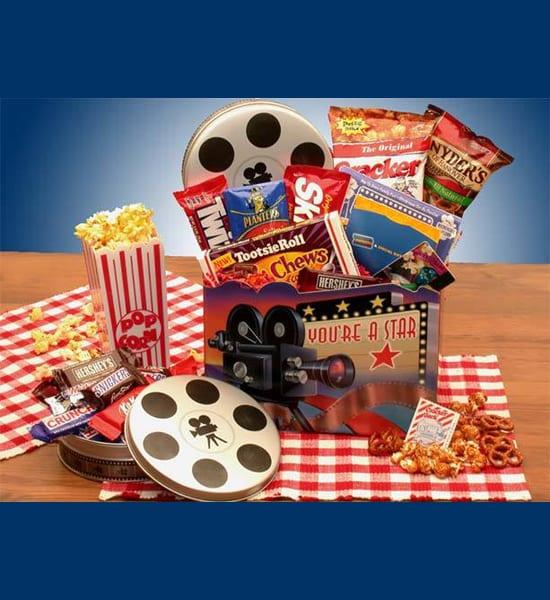 Kit Kat 'You're A Movie Superstar' Gift Basket