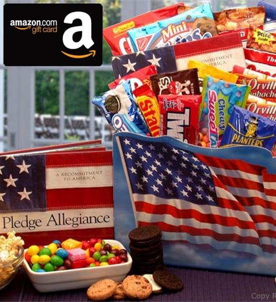 Amazon 'America the Beautiful' Snack Gift Basket