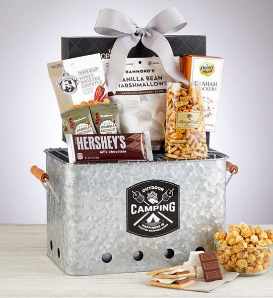 Hershey's Summertime S'mores & Treats Grill Gift Basket
