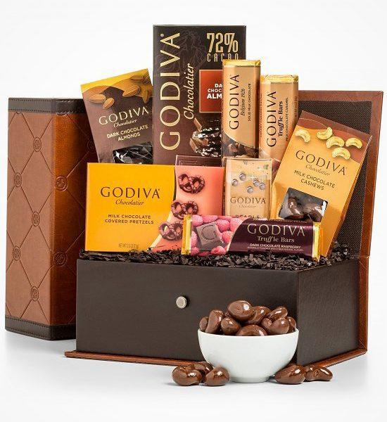 Godiva Chocolatier Collection Gift Basket