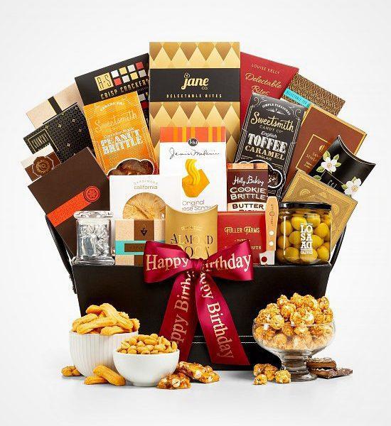 A Manhattan Happy Birthday Gift Basket